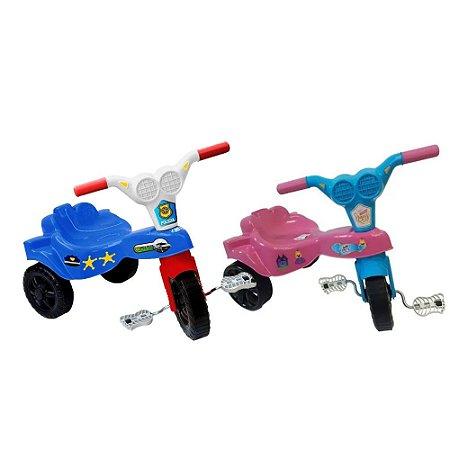 Triciclos Velotrol Infantil Azul e Rosa Kepler Promoção