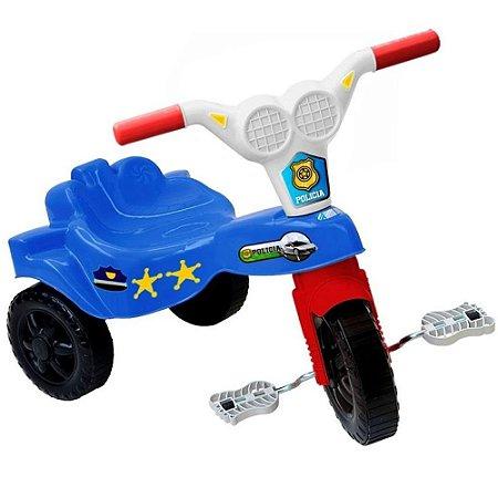 Triciclo Infantil Velotrol Kepler Top Motoca Azul