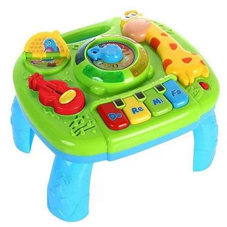 Mesa De Atividades Infantil Musical E Educativa Para Bebê