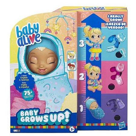 Boneca Baby Alive Grows Up Surprise Cresce 10cm Hasbro