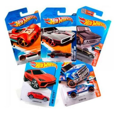 Carrinhos Hot Wheels Kit Com 8 Unidades Sortidas - C4982