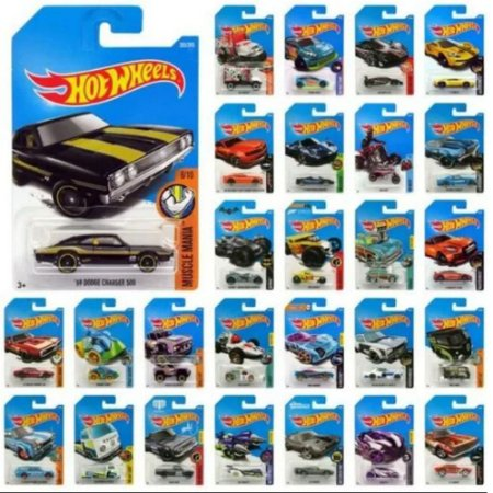 Carrinhos Hot Wheels Kit com 9 Unidades Sortidas - 5785