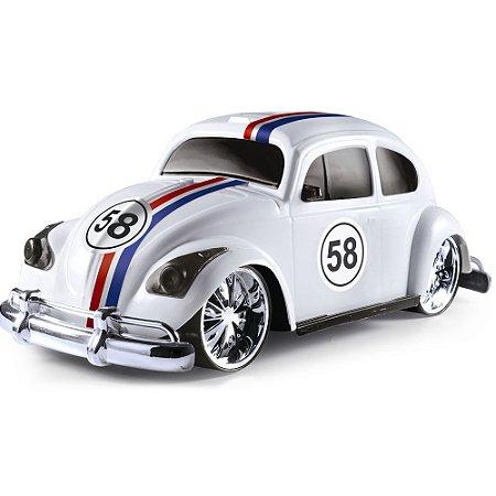 Carrinho Fusca Hobby Retrô Concept Car Junior BrinqMix