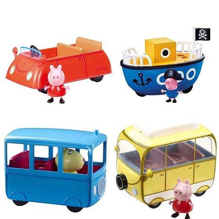 Peppa Pig Carrinhos Diversos Modelos Sortidos Sunny