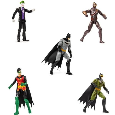 Miniaturas Dc Batman Modelos DIversos Sortidos Sunny
