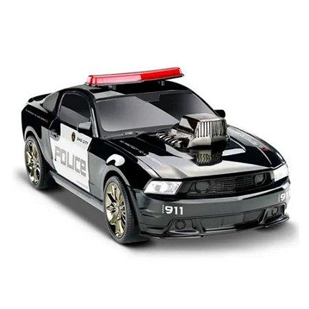 Carrinho Viatura Policia Legends Mustang - Omg Kids