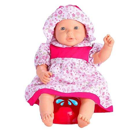 Boneca Bebê Xixi Com Som Brinquedo Boneca Vinil Omg