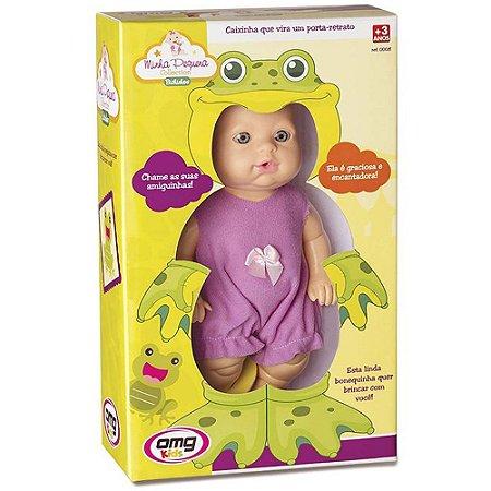 Boneca Minha Pequena - Bichinhos Sapo Omg