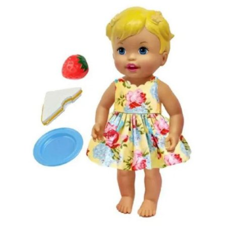 Boneca Little Mommy Vamos Brincar de Piquinique