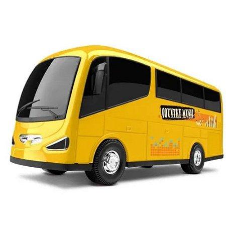 Micro Ônibus Micro Bus - Carrinho Infantil 28cm - Omg Kids