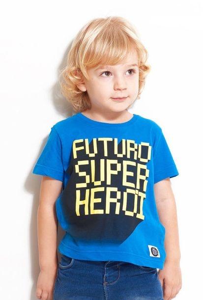 T-shirt Futuro Super Herói