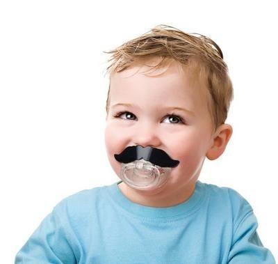 Chupeta Mustache