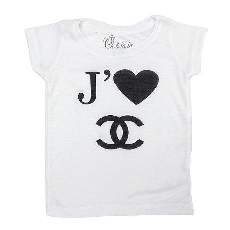 T-shirt Flamê J'Taime Chanel