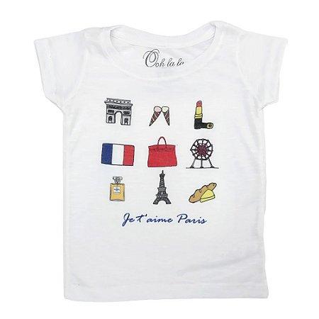 T-shirt Flamê J'Taime Paris