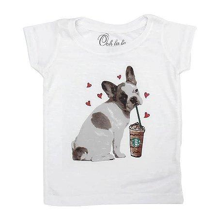 T-shirt Flamê French Bulldog