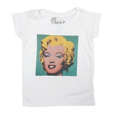 T-shirt Flamê Marilyn Pop
