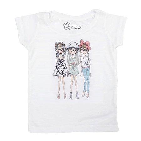 T-shirt Flamê Bonequinhas