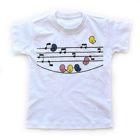 T-shirt Passarinhos
