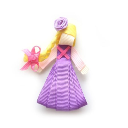 Lacinho Gorgurão Princesas Rapunzel