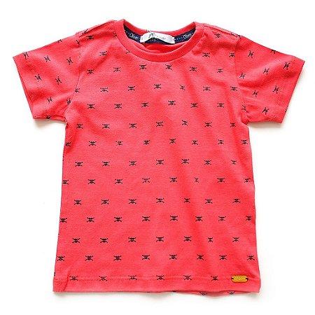 T-shirt Mini Skull Red