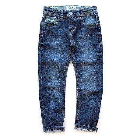 Calça Jeans Lavagem Escura