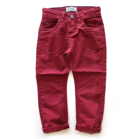 Calça Sarja Five Pockets Red