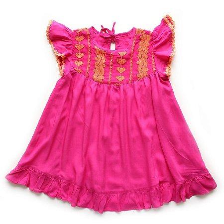 Vestido Hibisco Renda