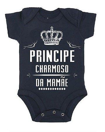 Body Príncipe Charmoso da Mamãe