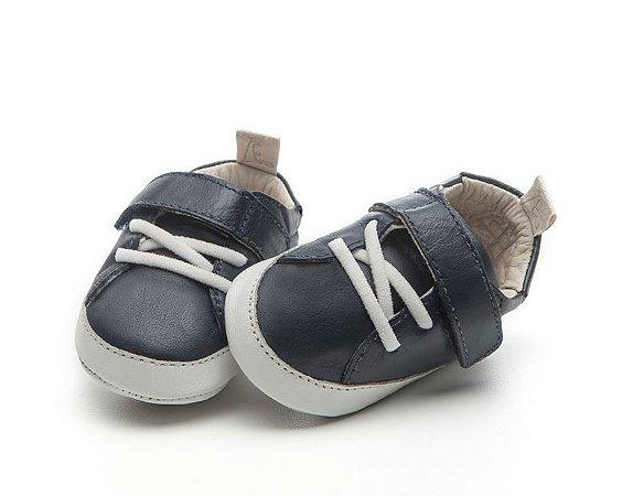 Sapatinho Newborn Light Navy