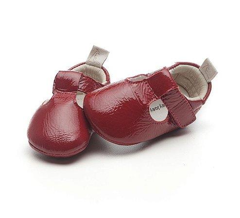 Sapatinho Newborn Live Patent Red