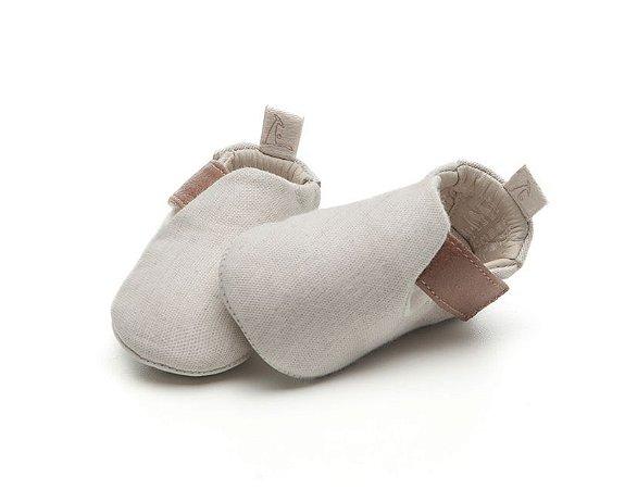 Sapatinho Newborn Life Tapioca