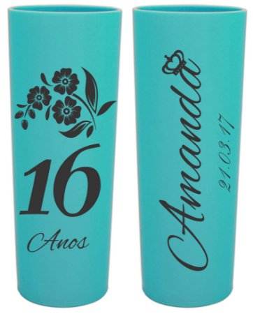100 COPOS LONG DRINK 350 ML PERSONALIZADOS