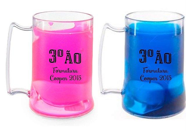 30  CANECAS DE CHOP COM GEL CONGELANTE 450 ml