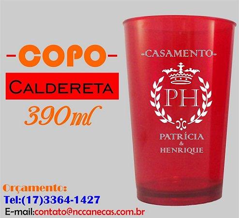 COPO DE ACRÍLICO CALDERETA 390 ml