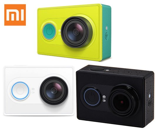 Camera Xiaomi Yi Action 1080p 16mp Wifi Original