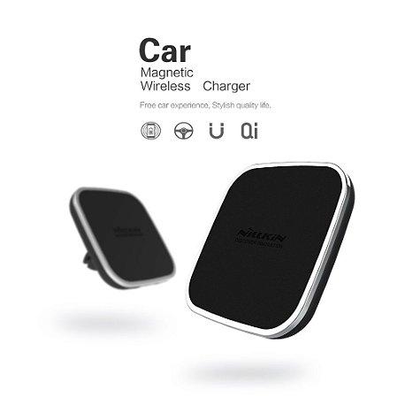 Carregador Nillkin Veicular Wireless Qi Sem Fio com Suporte Magnético
