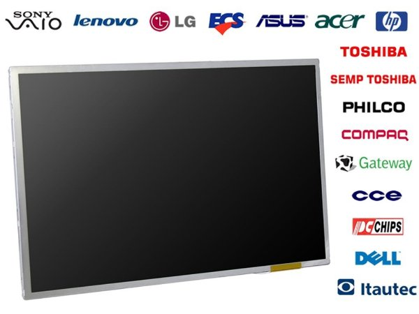Tela para Notebook Widescreen LCD ou LED Original
