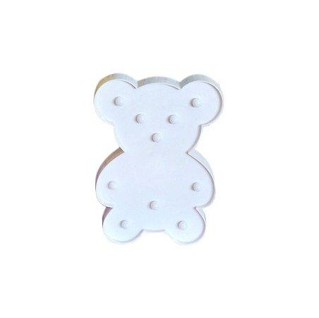 Luminária De Led Decorativa Urso Decoração Luminoso
