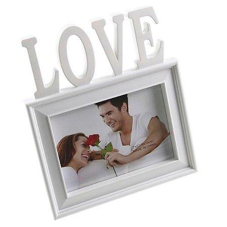 Porta Retrato Decorativo Palavra Love