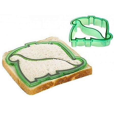 Forma para cortar pão em formato de Dinossauro