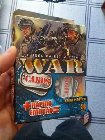 War em cartas