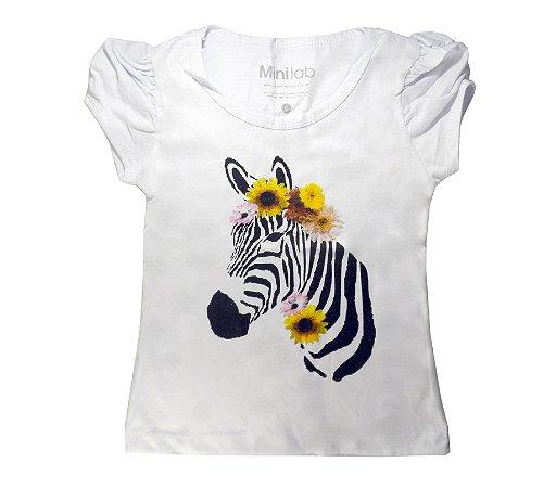 Blusa Infantil Zebra