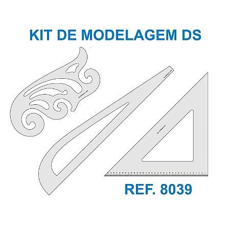 Kit de Réguas para Costura e Modelagem DS