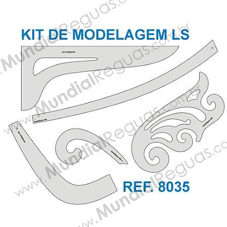 Kit de Réguas para Modelagem LS
