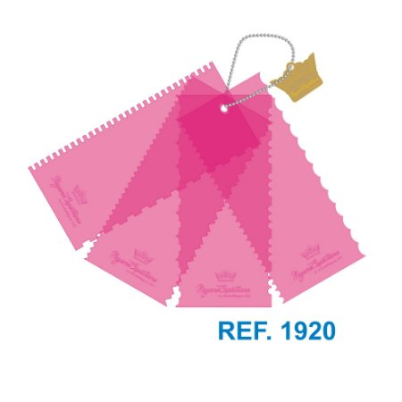 Kit de Réguas de Decoração e Acabamento de Bolos e Tortas by Nayane Capistrano