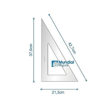 Esquadro 60º 37 cm