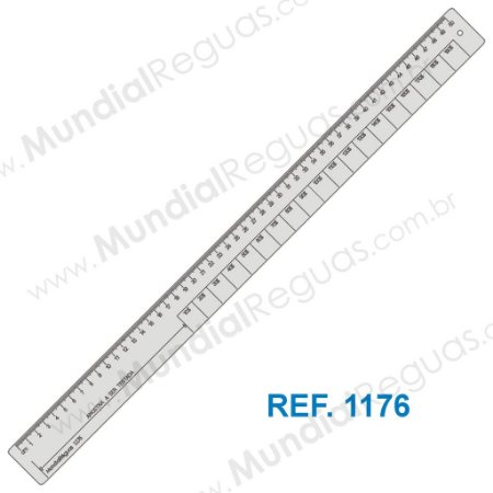 Régua de Elasticidade 50 cm