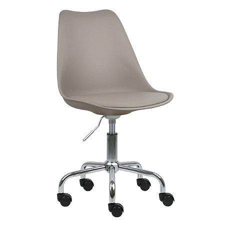 Cadeira Nude New Soft Office em PP/PU