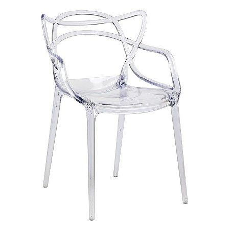 Cadeira Lauren Incolor em PC