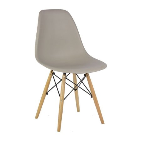 Cadeira Nude Charles Eames Wood Dsw em PP